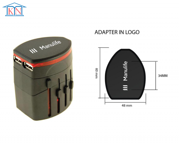 Adapter Du Lịch 008